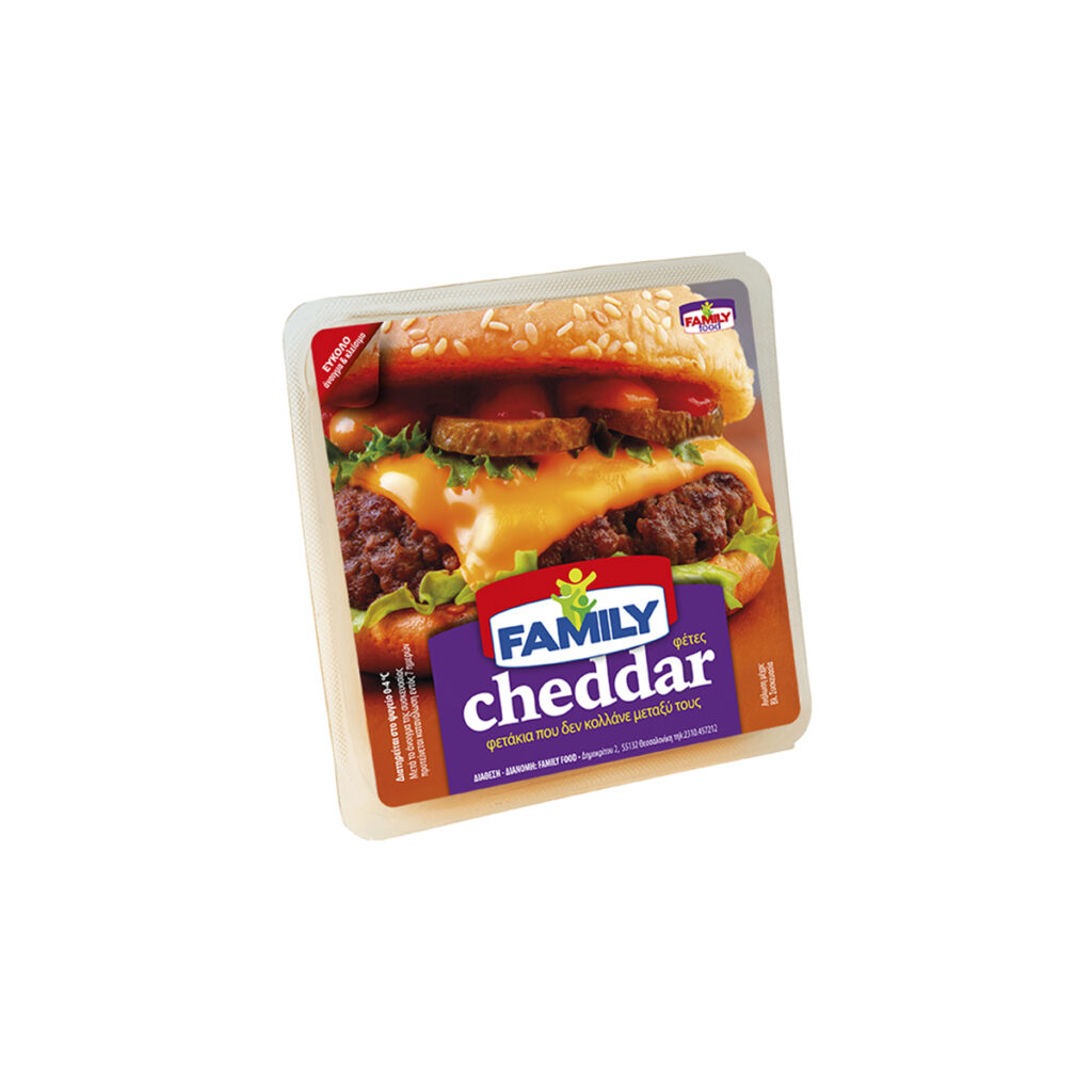 Cheddar Cheese Slices 300gr